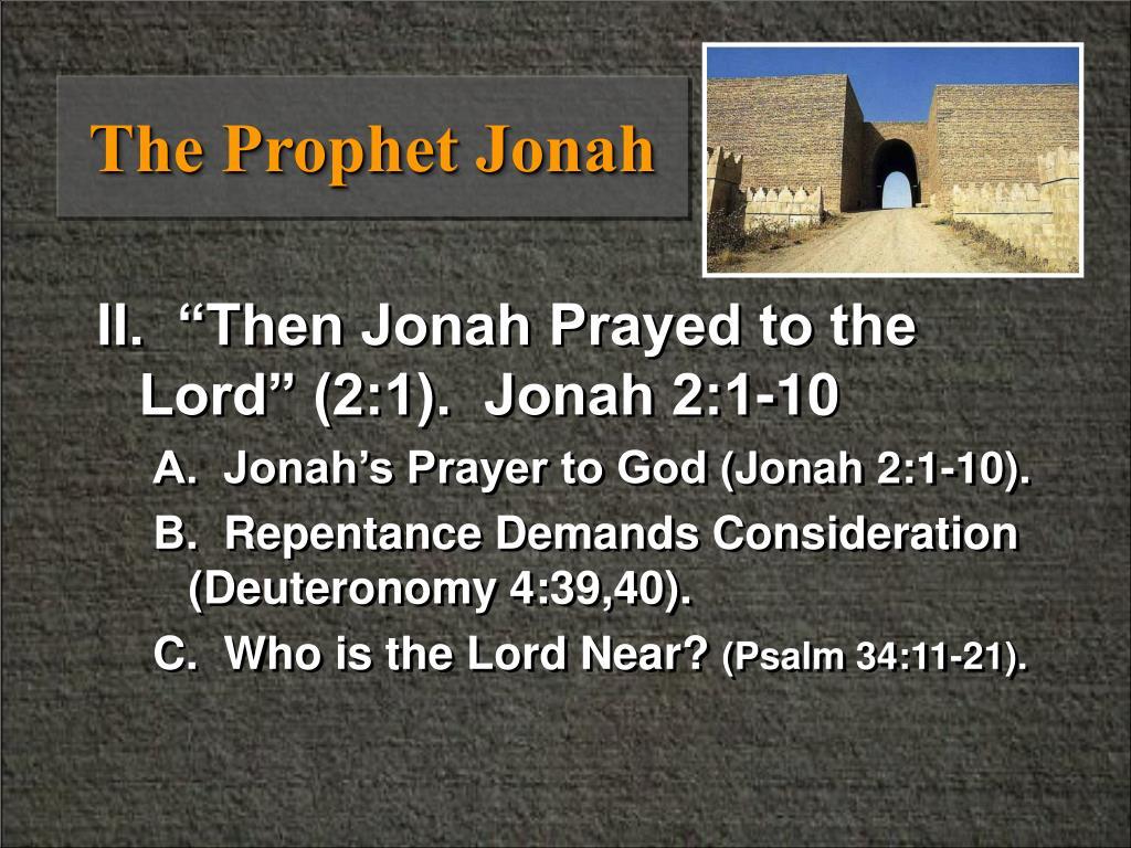 The Prophet Jonah
