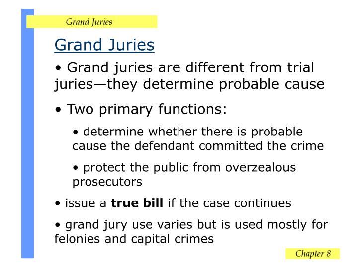 Grand Juries