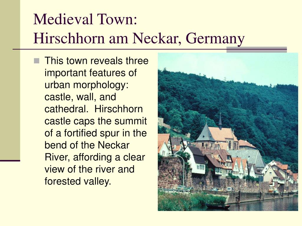 Medieval Town: