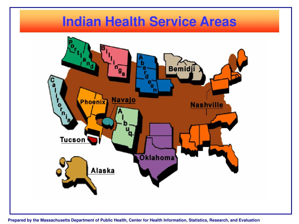 Indian Health Service Areas