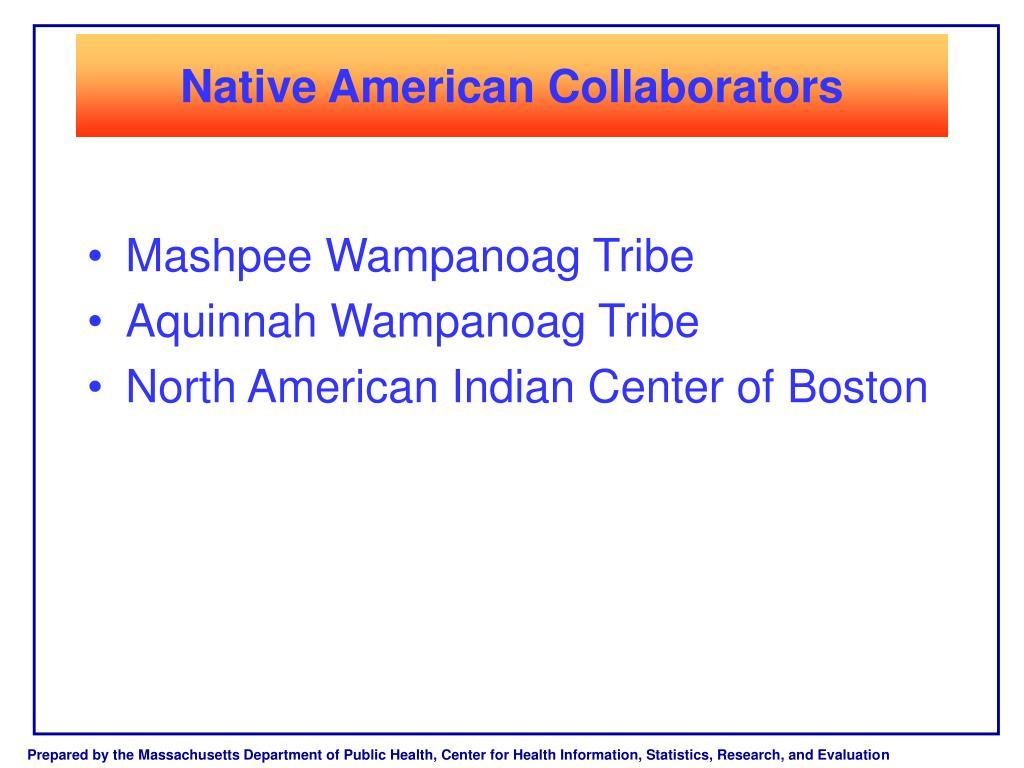 Native American Collaborators