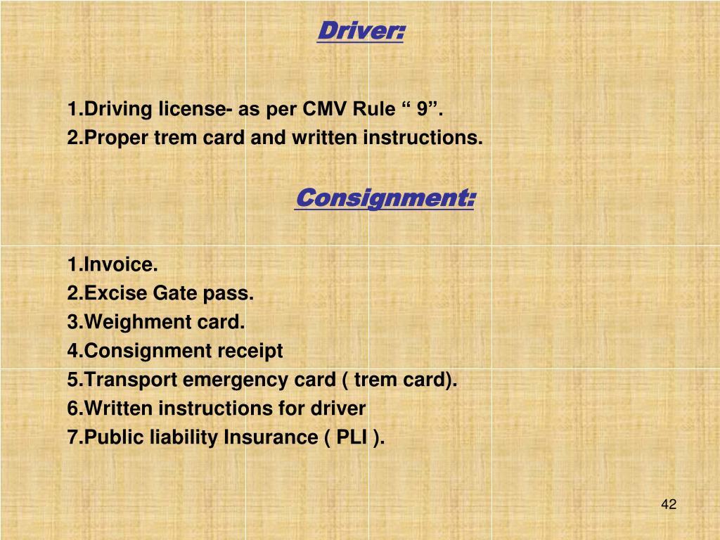 Driver: