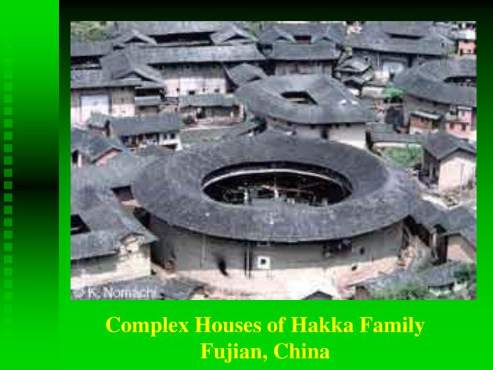Complex Houses of Hakka Family