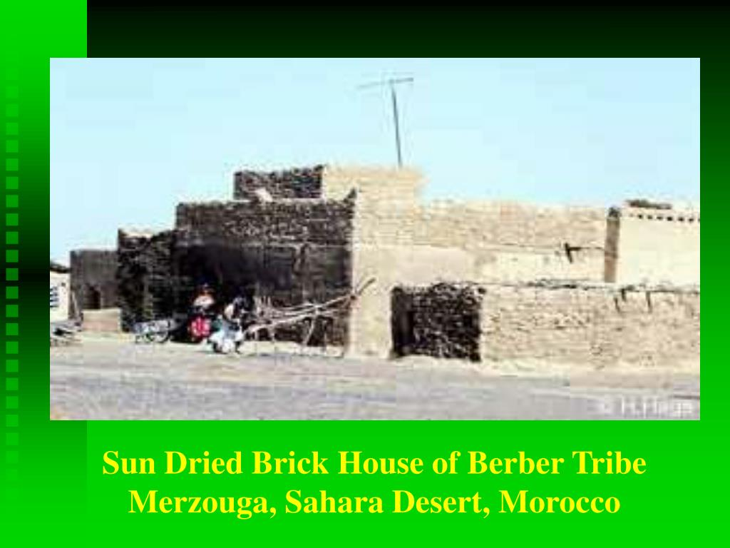 Sun Dried Brick House of Berber Tribe