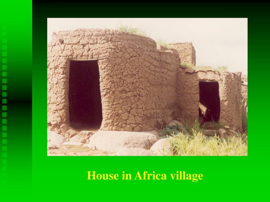 House in Africa village