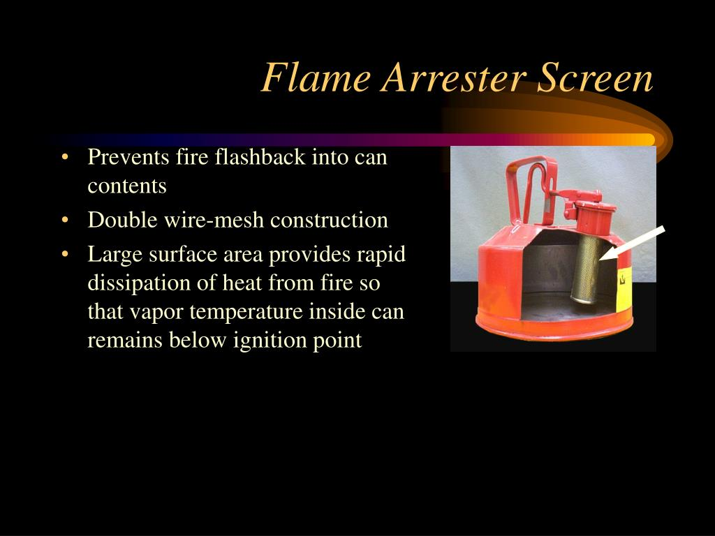 Flame Arrester Screen