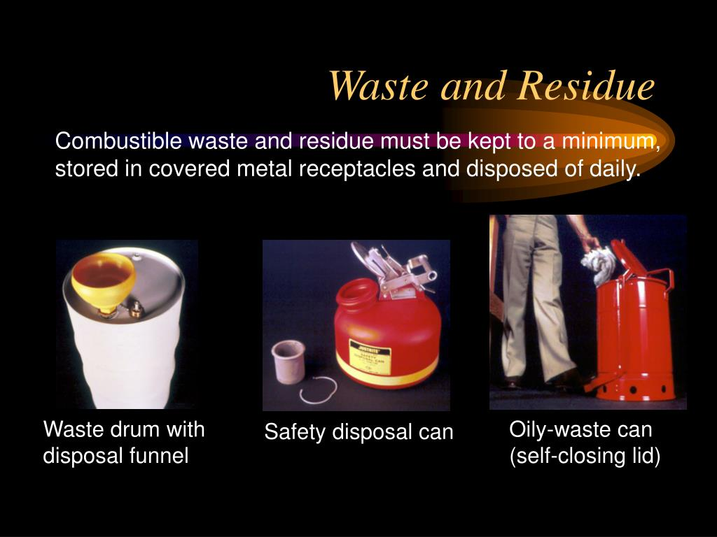 Waste and Residue