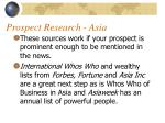prospect research asia26