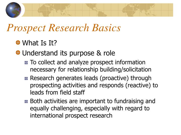 Prospect research basics l.jpg