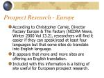 prospect research europe23