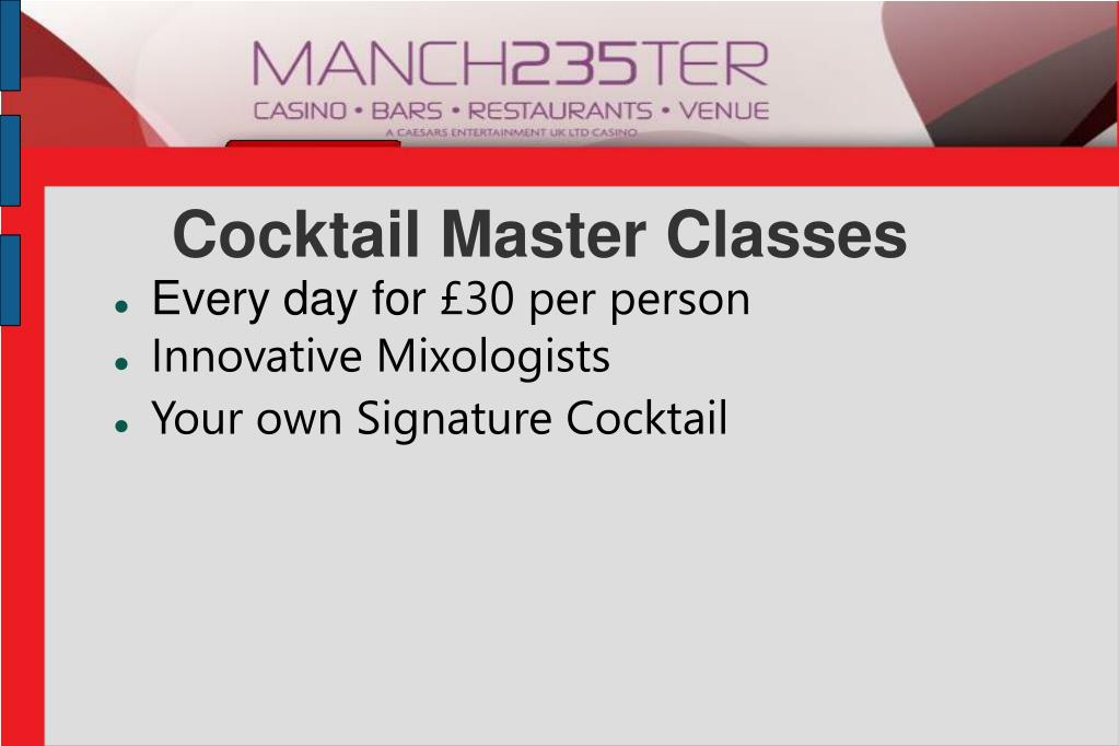 Cocktail Master Classes
