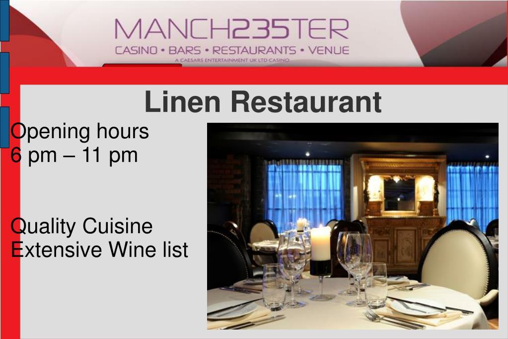 Linen Restaurant