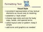 formatting text8