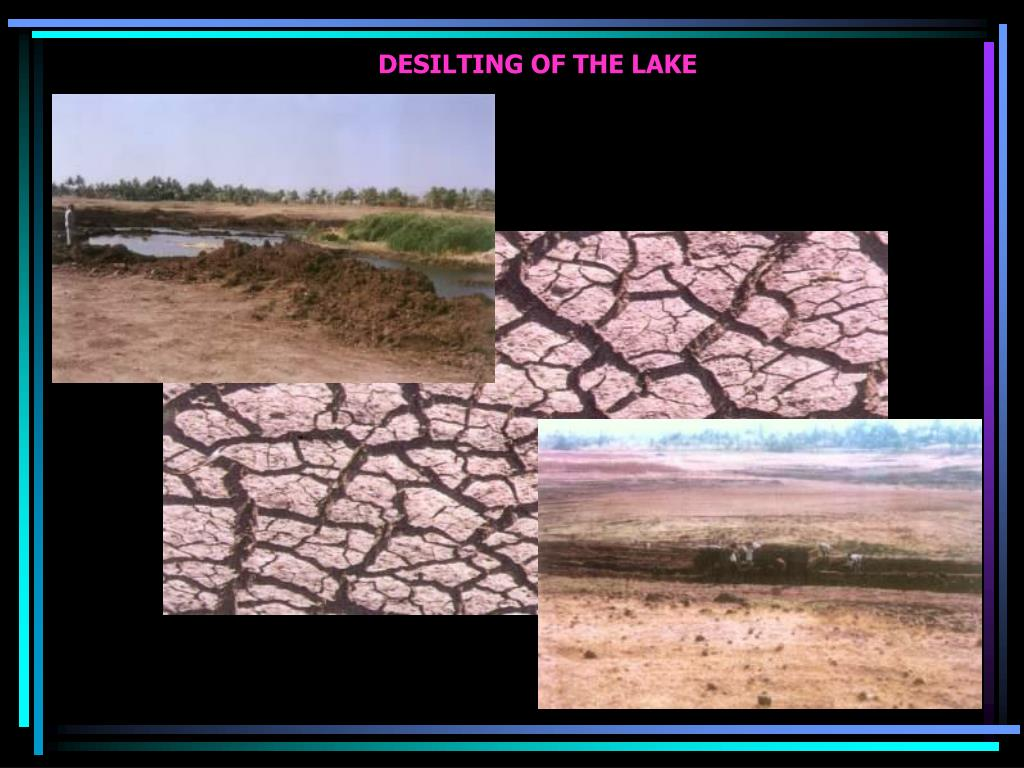 DESILTING OF THE LAKE