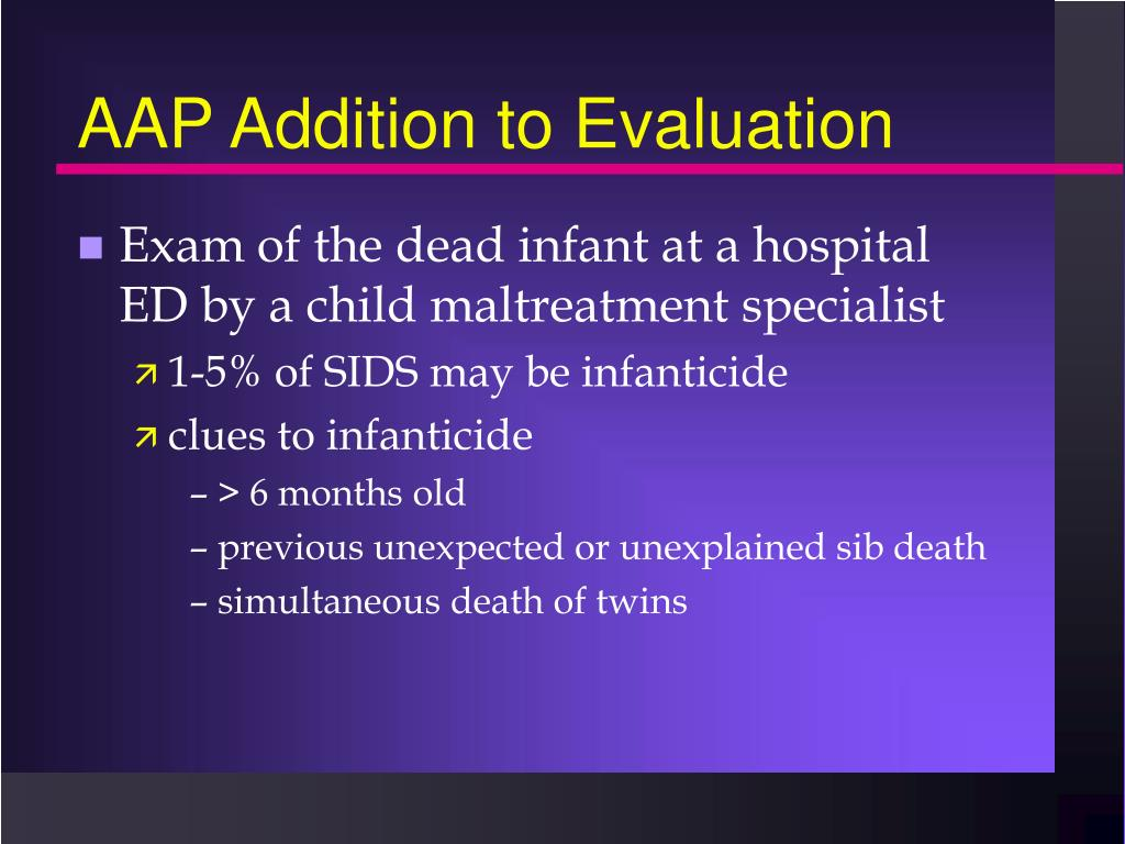 AAP Addition to Evaluation