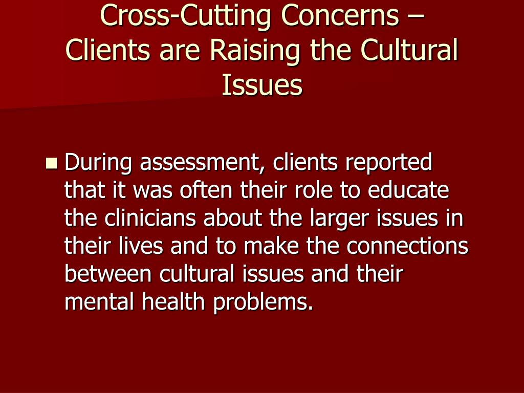 Cross-Cutting Concerns –