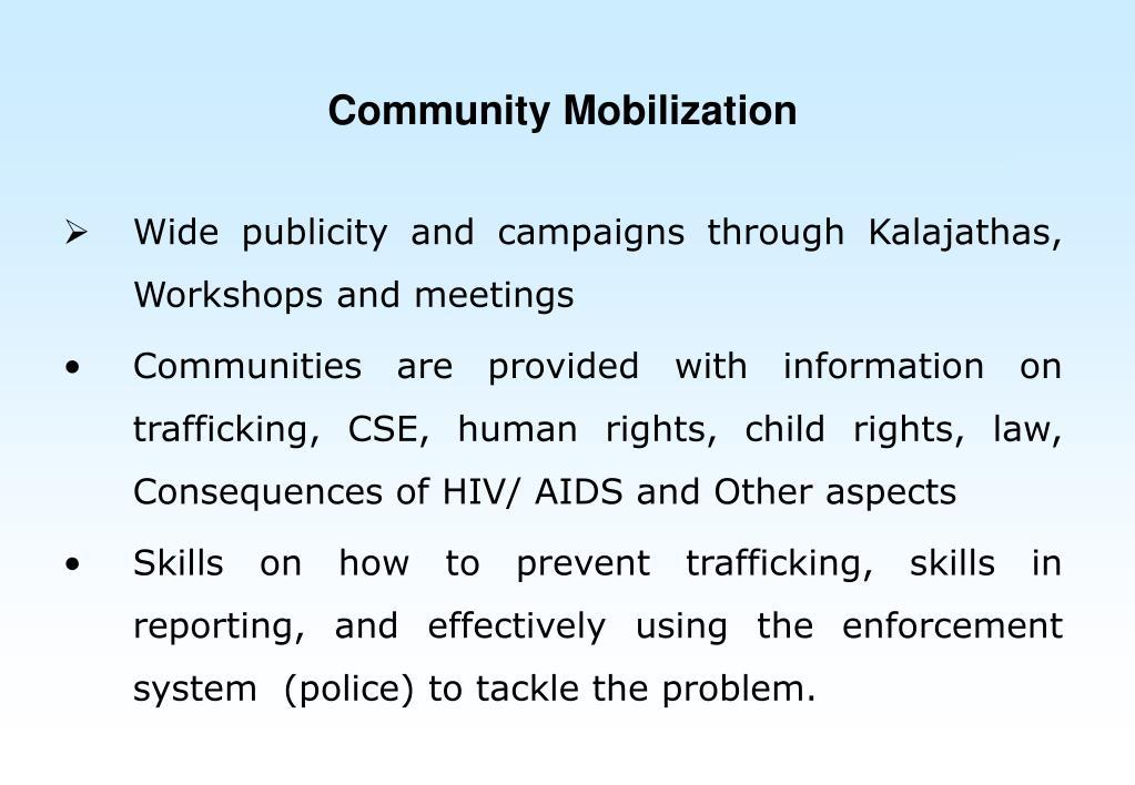 Community Mobilization