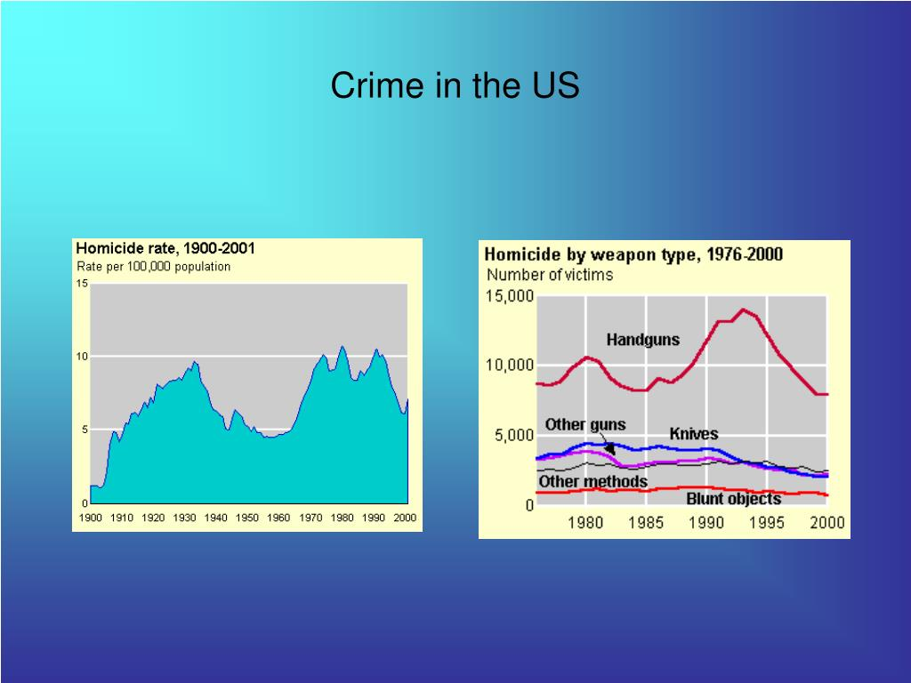 Crime in the US