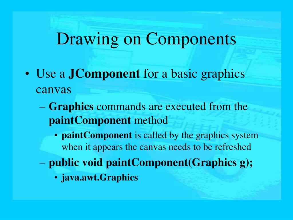 Drawing on Components