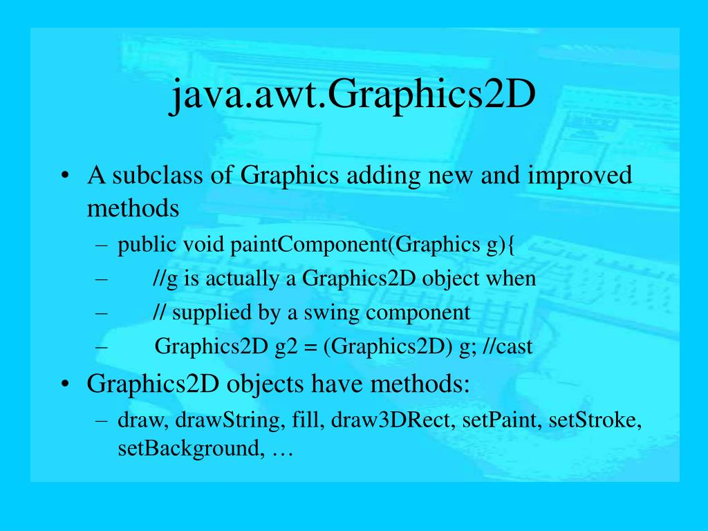 java.awt.Graphics2D