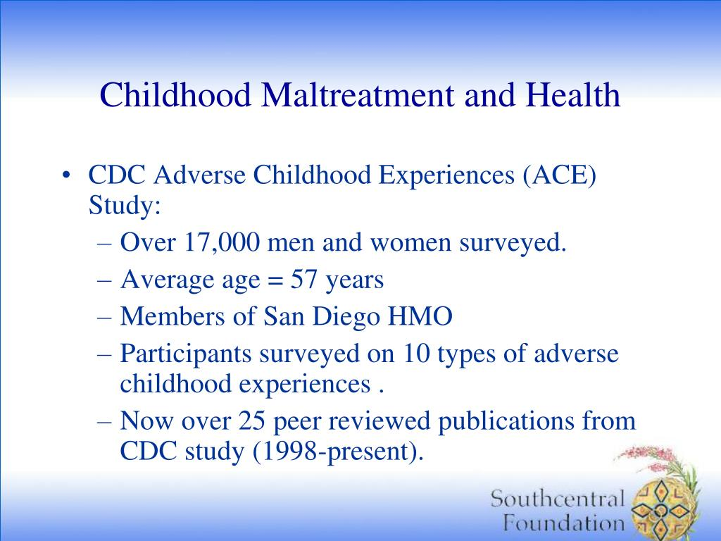 Childhood Maltreatment and Health