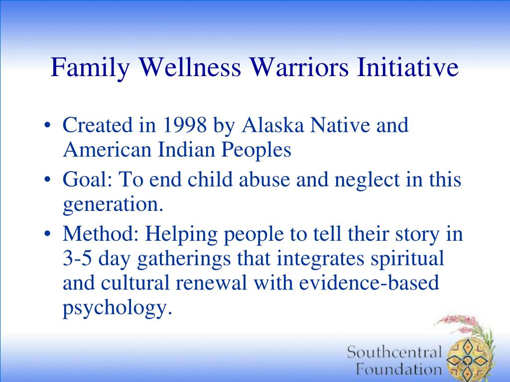 Family Wellness Warriors Initiative