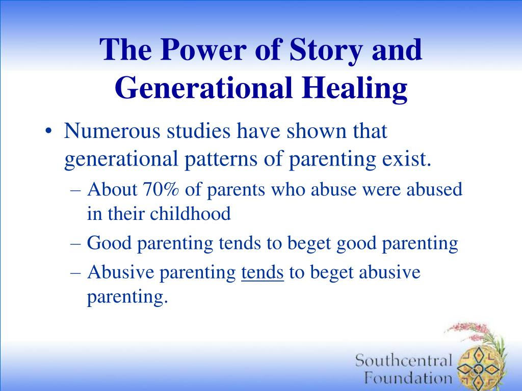 The Power of Story and Generational Healing