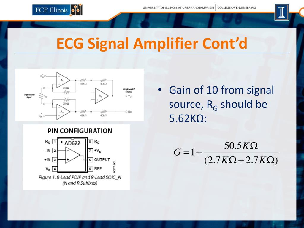 Ecg Monitors Using The Ad620 Instrumentation Amplificircuit Diagram