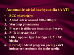 automatic atrial tachycardia aat