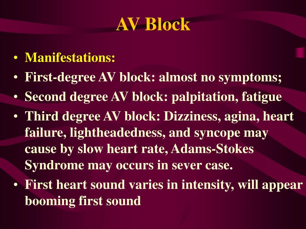 AV Block