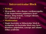intraventricular block81