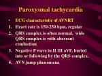paroxysmal tachycardia56