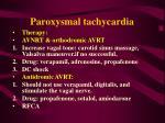 paroxysmal tachycardia58