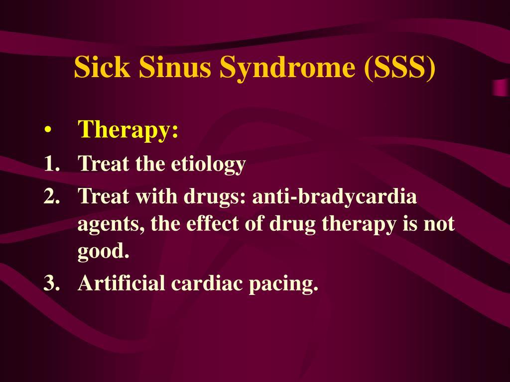 Sick Sinus Syndrome (SSS)