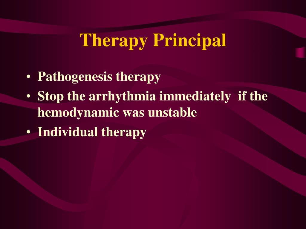 Therapy Principal