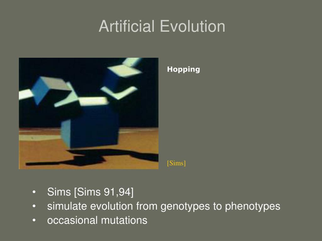 Artificial Evolution