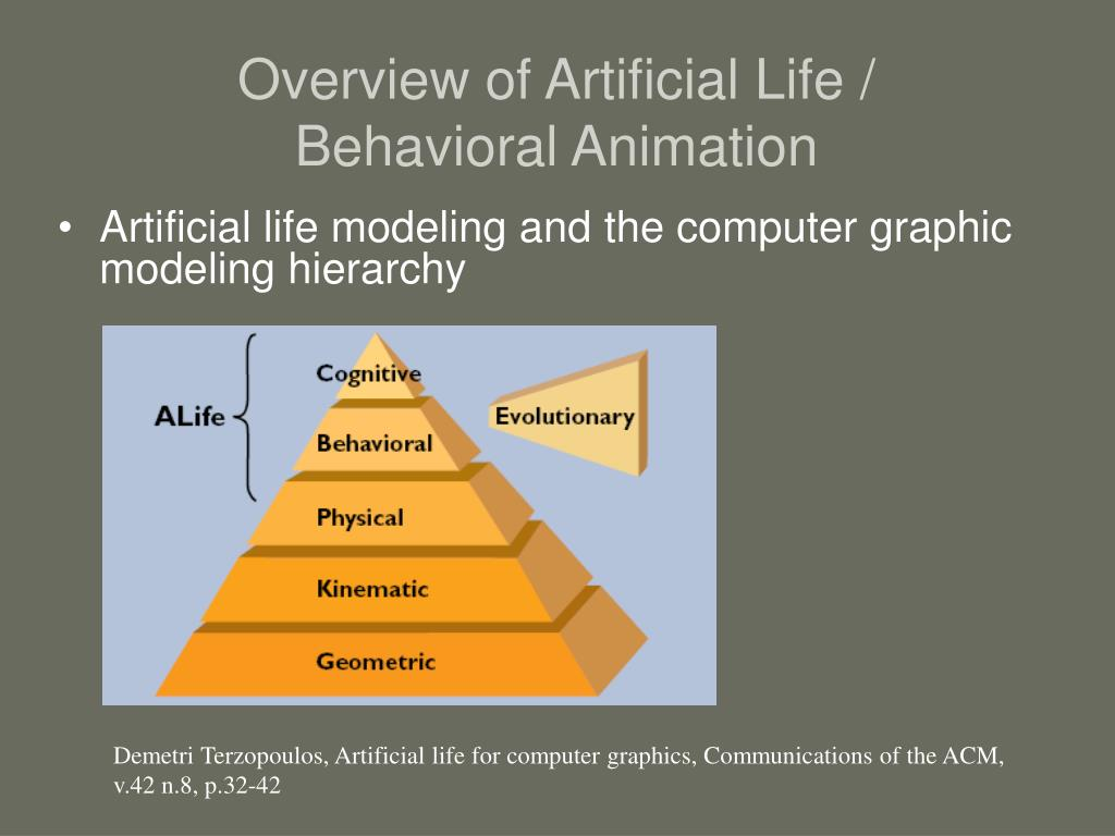 Overview of Artificial Life /