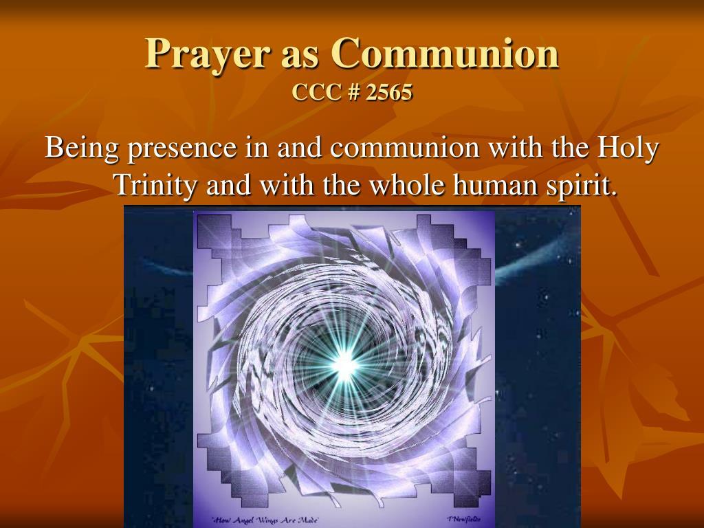 Prayer as Communion