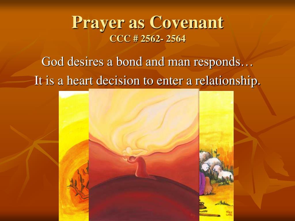 Prayer as Covenant