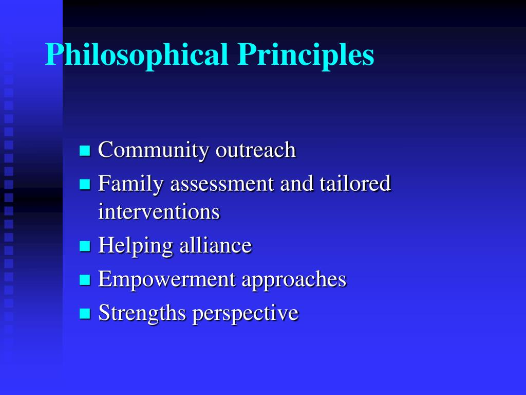 Philosophical Principles