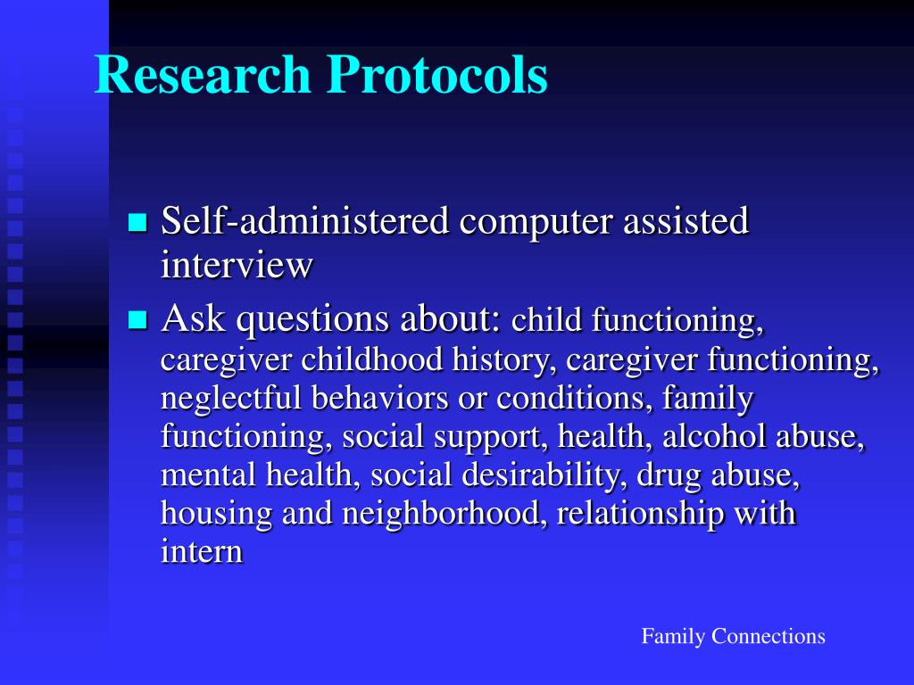 Research Protocols