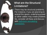 what are the structural limitations