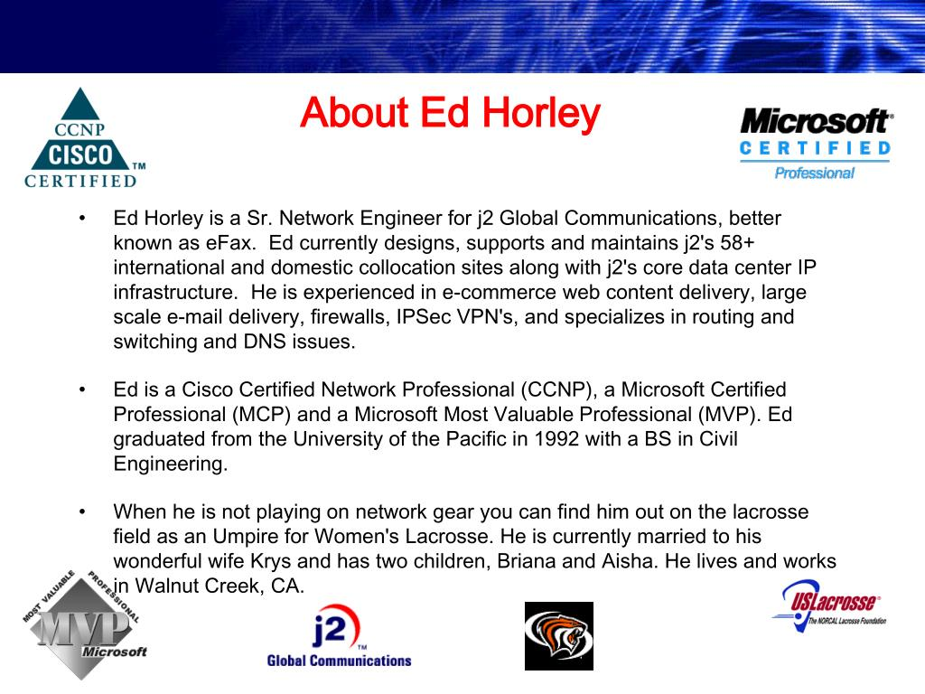 About Ed Horley