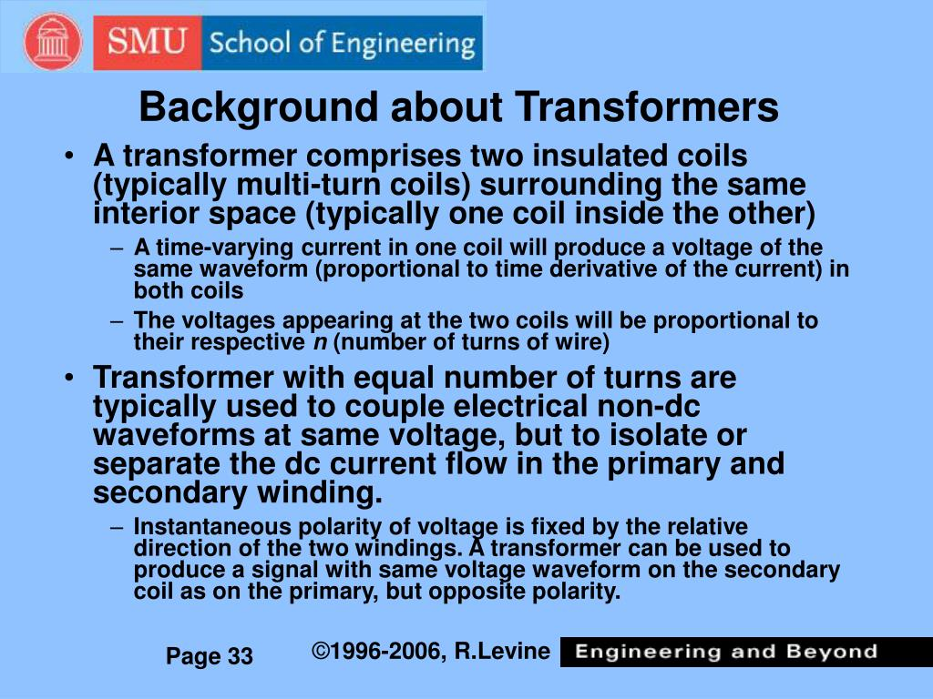 Background about Transformers