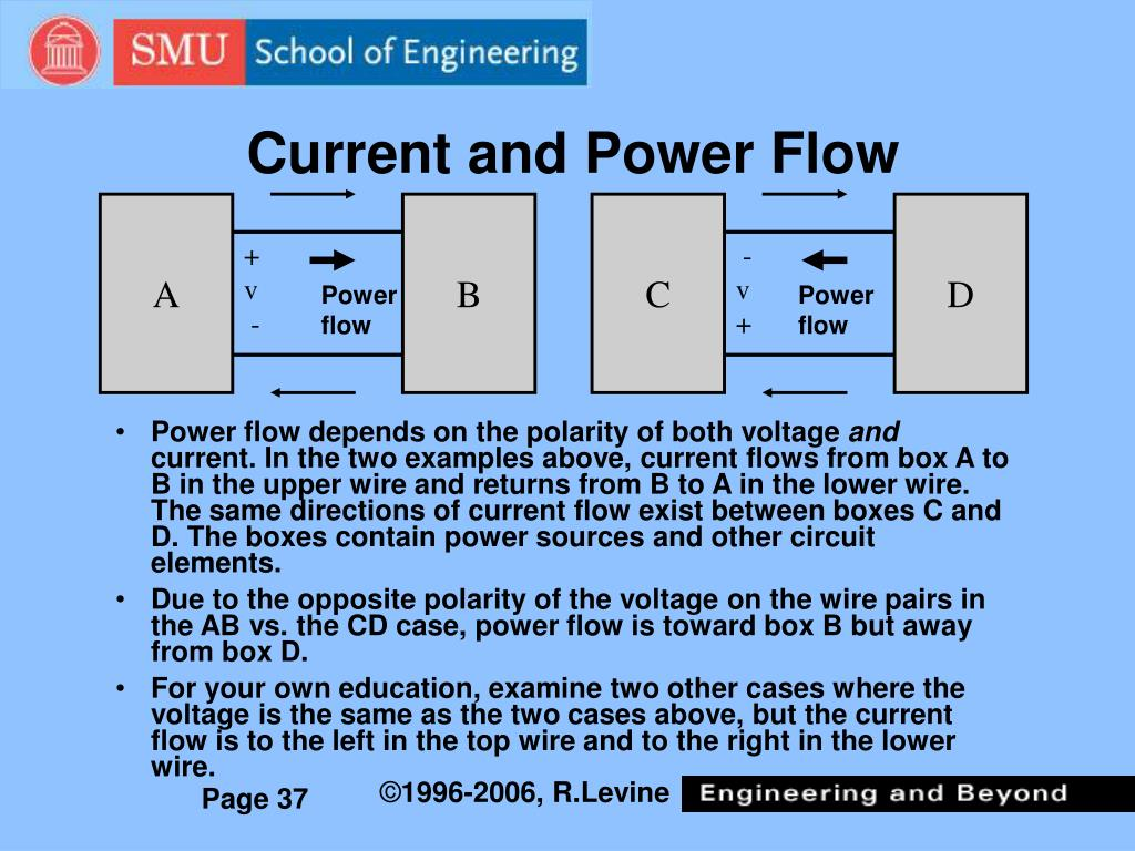 Current and Power Flow