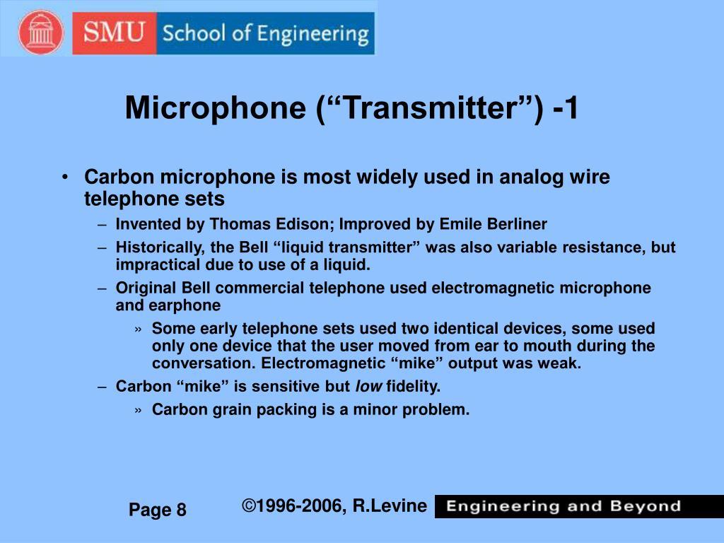 "Microphone (""Transmitter"") -1"