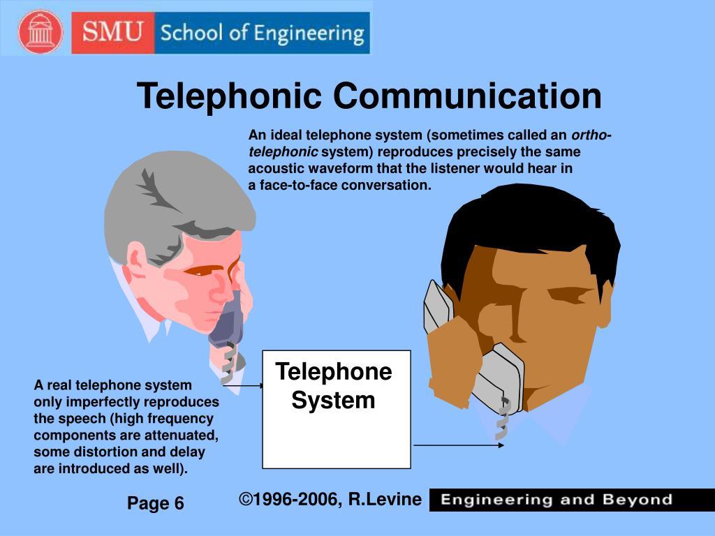 Telephonic Communication