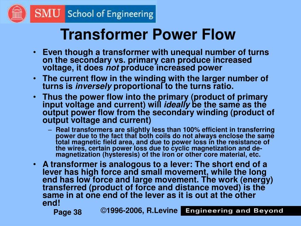 Transformer Power Flow
