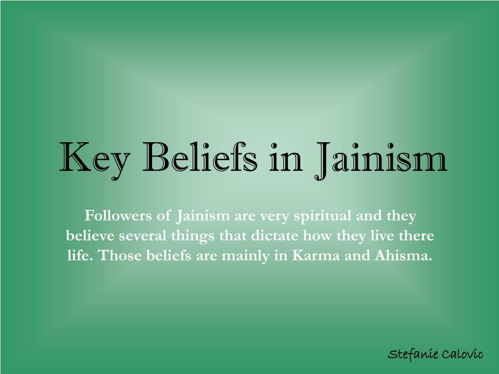 Key Beliefs in Jainism