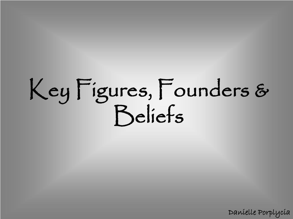 Key Figures, Founders & Beliefs